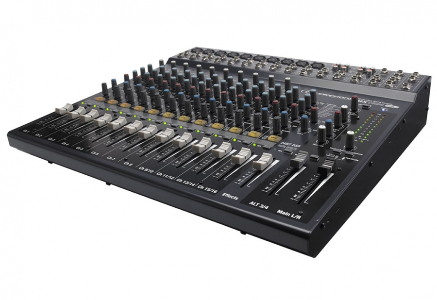 table de mixage concert