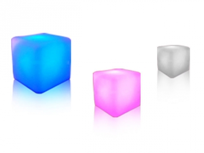 Table Basse Cube Lumineuse
